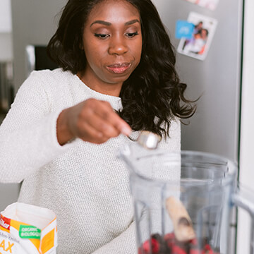 Nutrition education for adults