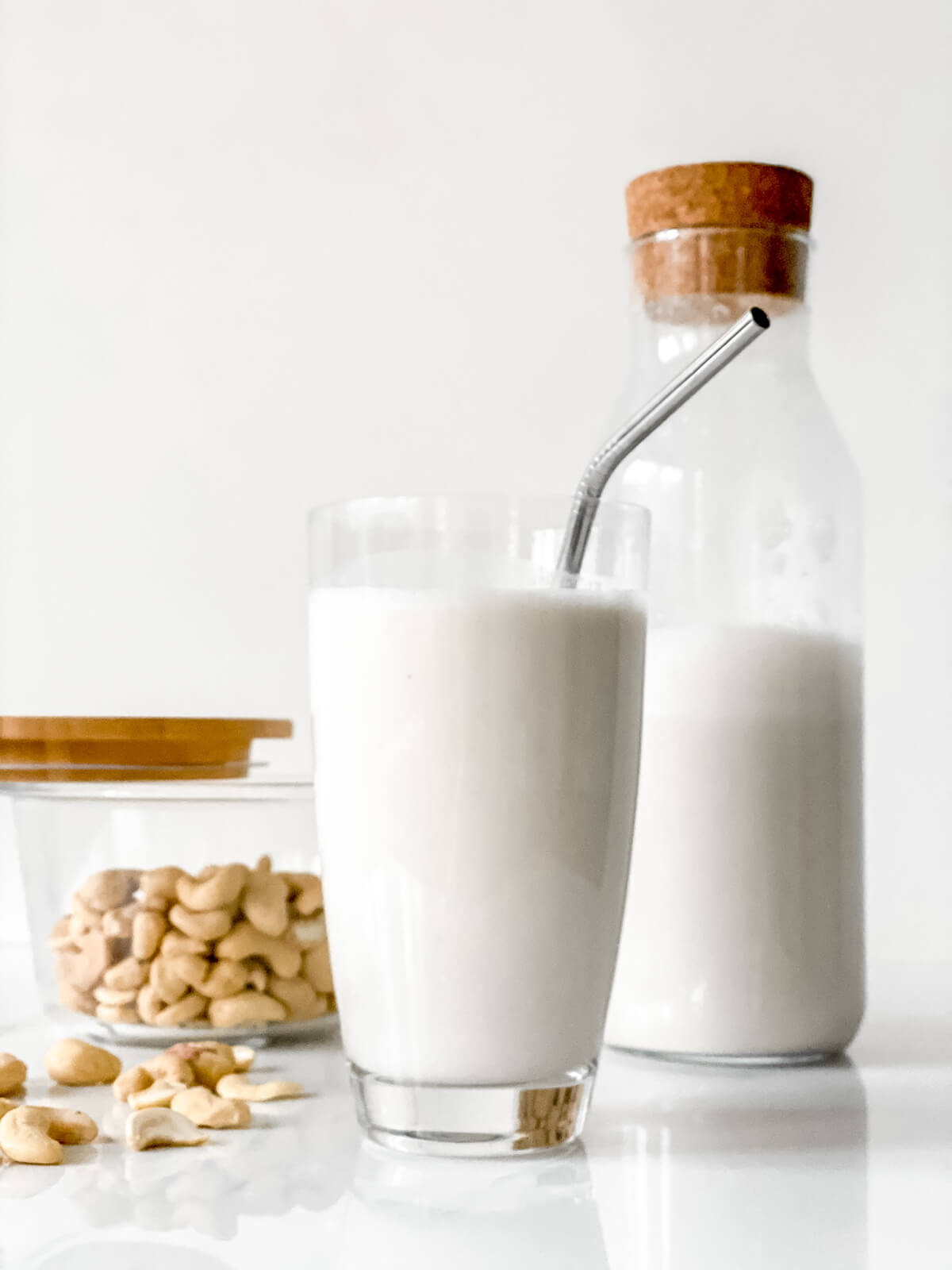 Quick Easy Vanilla Cashew Milk 2